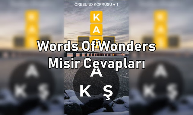 Words Of Wonders Misir Cevaplari