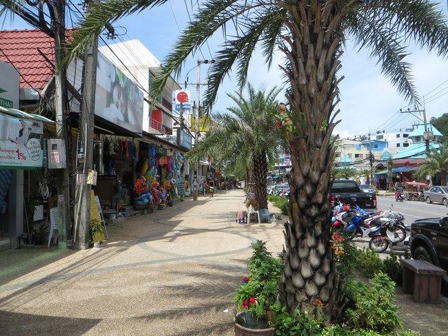 широкие улицы Таиланда