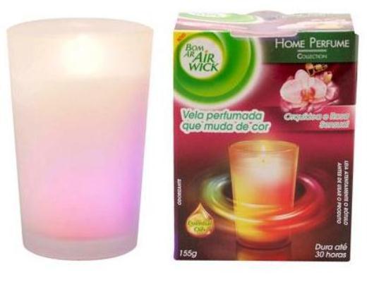 Air wick lan a velas perfumadas com tecnologia in dita no pa s design innova - Velas perfumadas ...