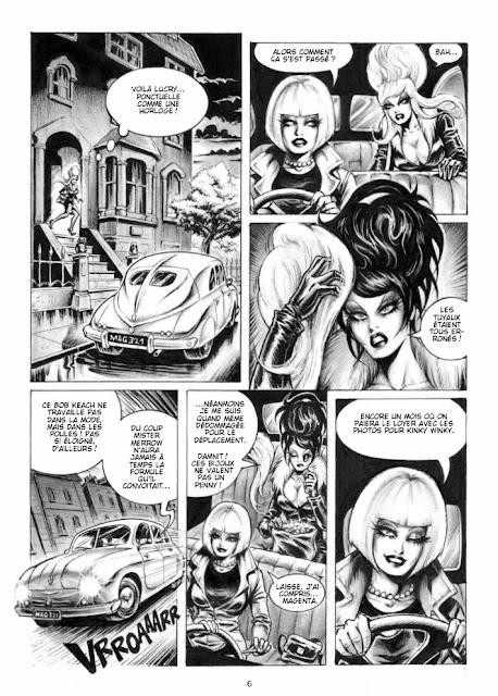 Magenta - Noir Fatal éditions Graph Zeppelin page 6