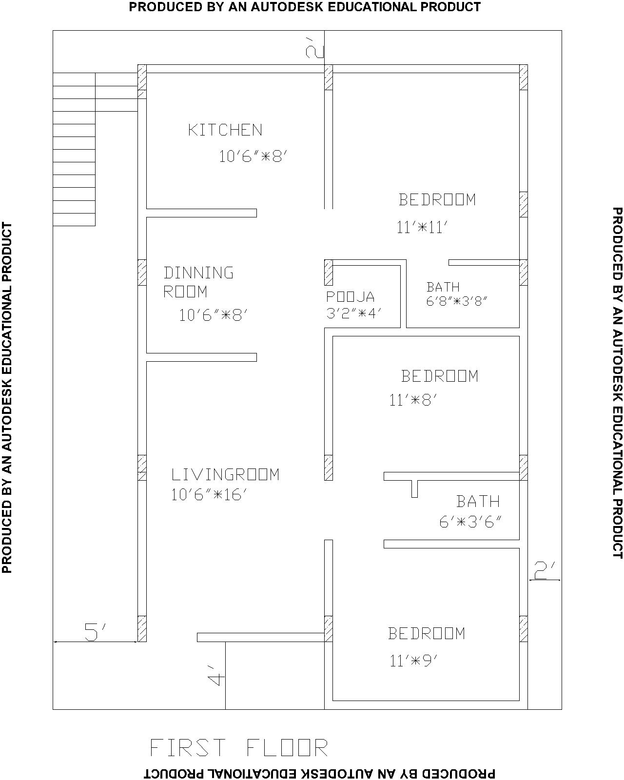 Indian vastu house plans for 30 40 north facing house for House plan for 30x40 site