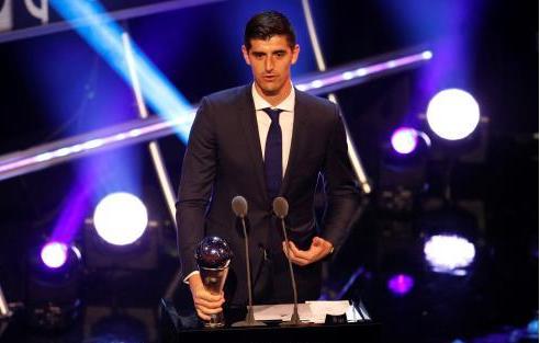 رسميًا: كورتوا أفضل حارس في العالم 2018