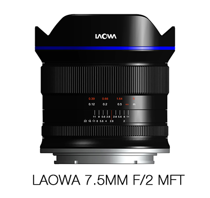 Объектив Venus Optics Laowa 7.5mm f/2.0