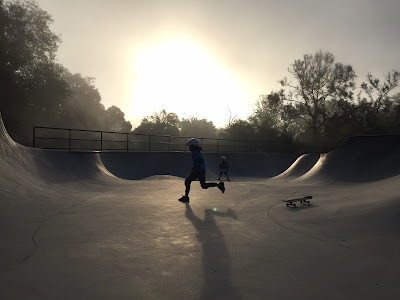 sunrise skate sessions with kids