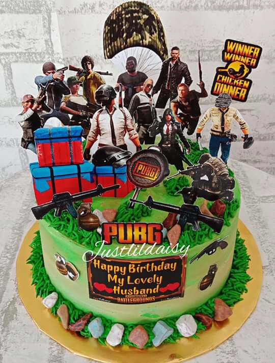 Pubg Birthday Cake Ideas Game And Movie