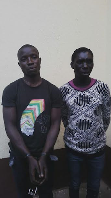 Photos: RRS nabs Chairman of pickpockets in Oshodi, 21 others
