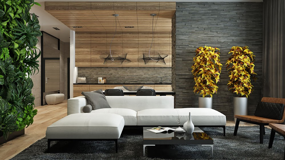 wood-and-stone-living-room