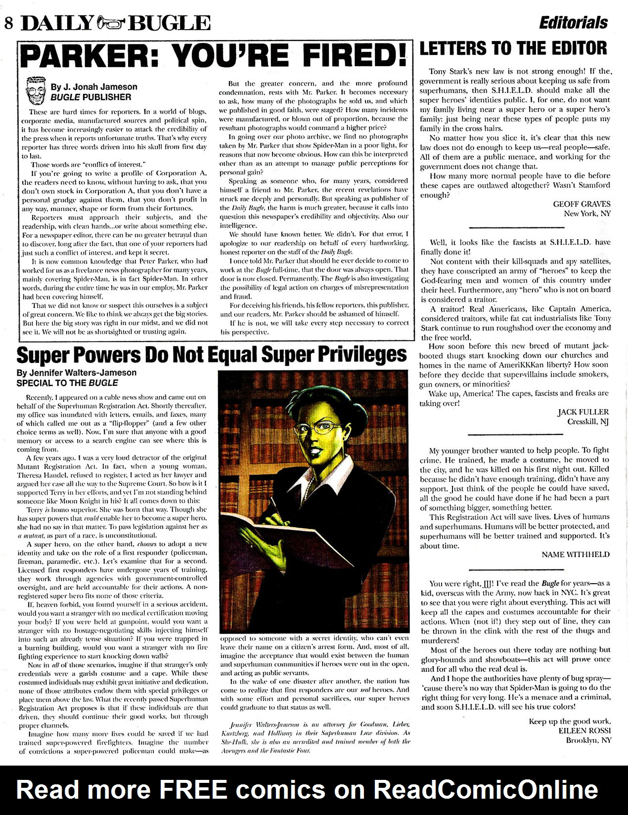 Read online Daily Bugle (2006) comic -  Issue #0 - 8