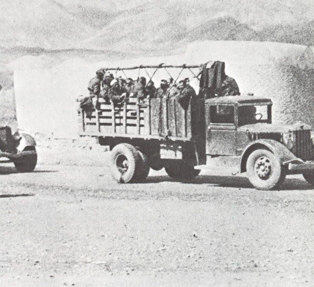 Soviet troops entering Iran, 25 August 1941 worldwartwo.filminspector.com