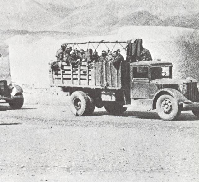 Soviet troops entering Iran, 25 August 1941 worldwartwo.filminspector.com