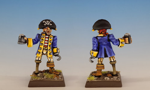 Talisman Pirate, Citadel Miniatures (1987, sculpted by Aly Morrison)