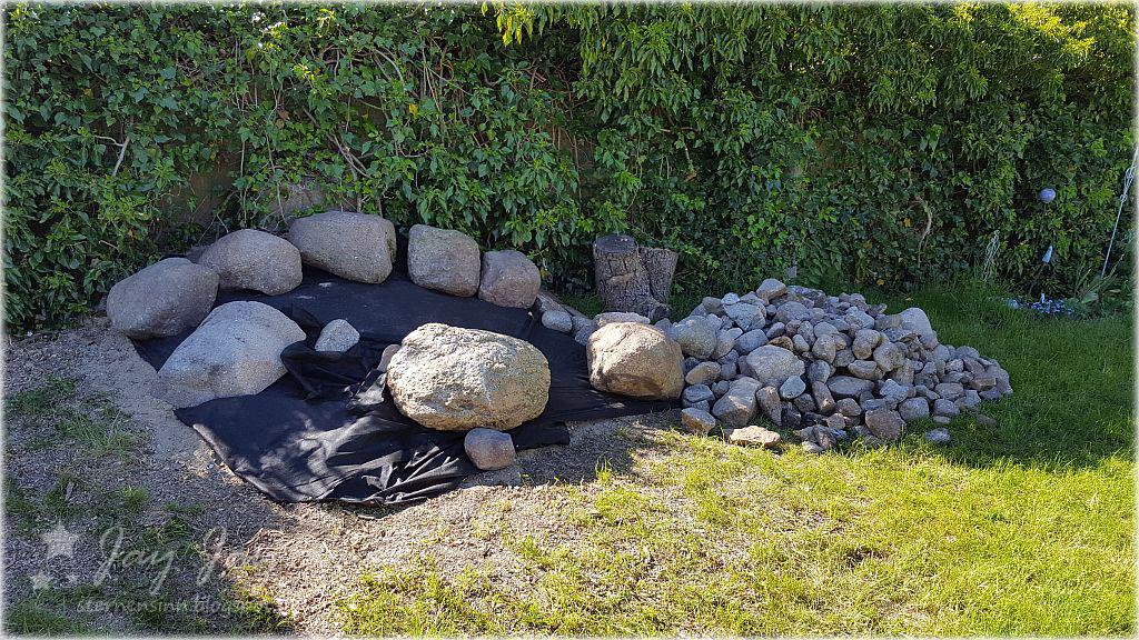 Steine Im Garten ☆ sternensinn ☆ garten und mehr ☆: die steine sind da