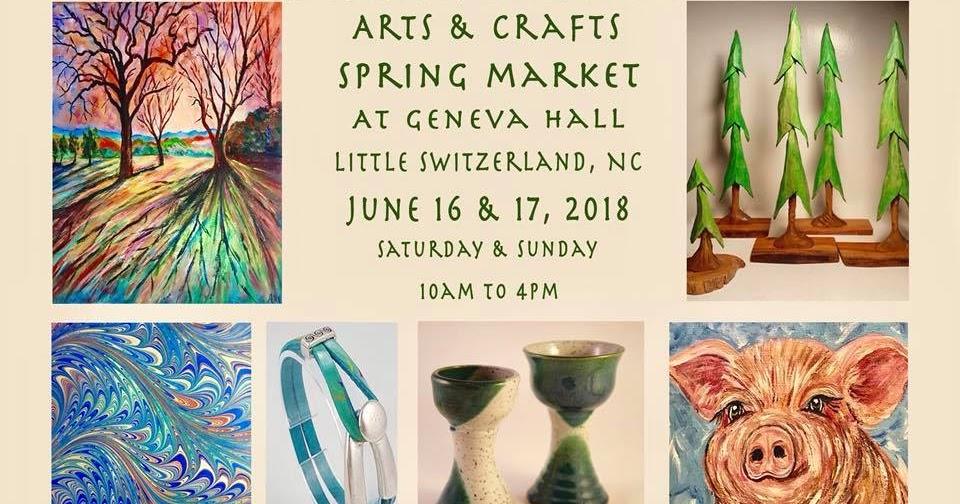 Artisan League of Little Switzerland Arts & Crafts Spring Market this weekend