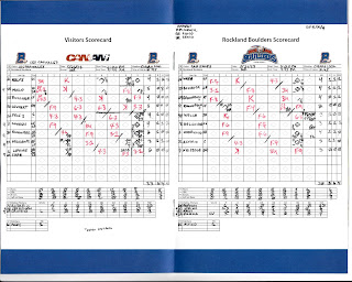 Les Capitales vs. Boulders, 05-26-13. Boulders win, 6-5.