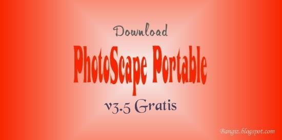 Download PhotoScape Portable v3.5 Gratis