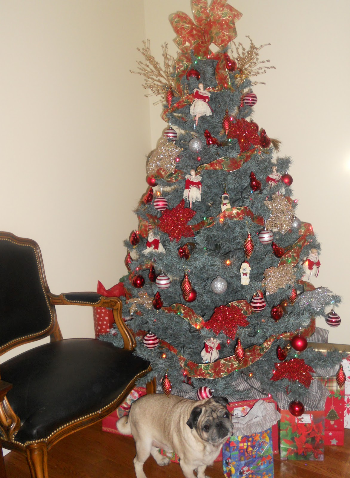 Image Result For Silver And Gold Decorated Christmas Trees