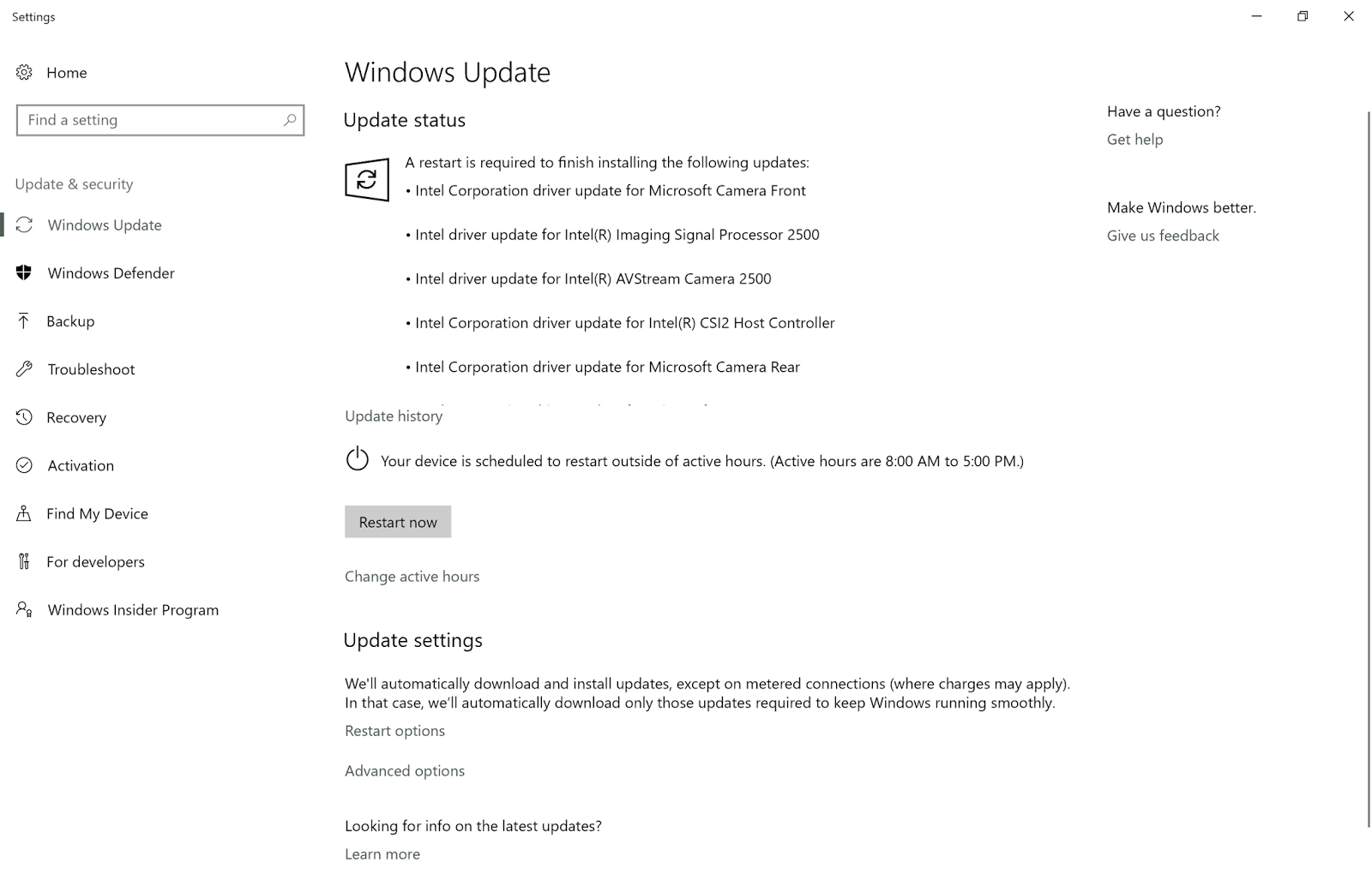 Surface Pro 4 Lingering Sleep Issues and October Post-update