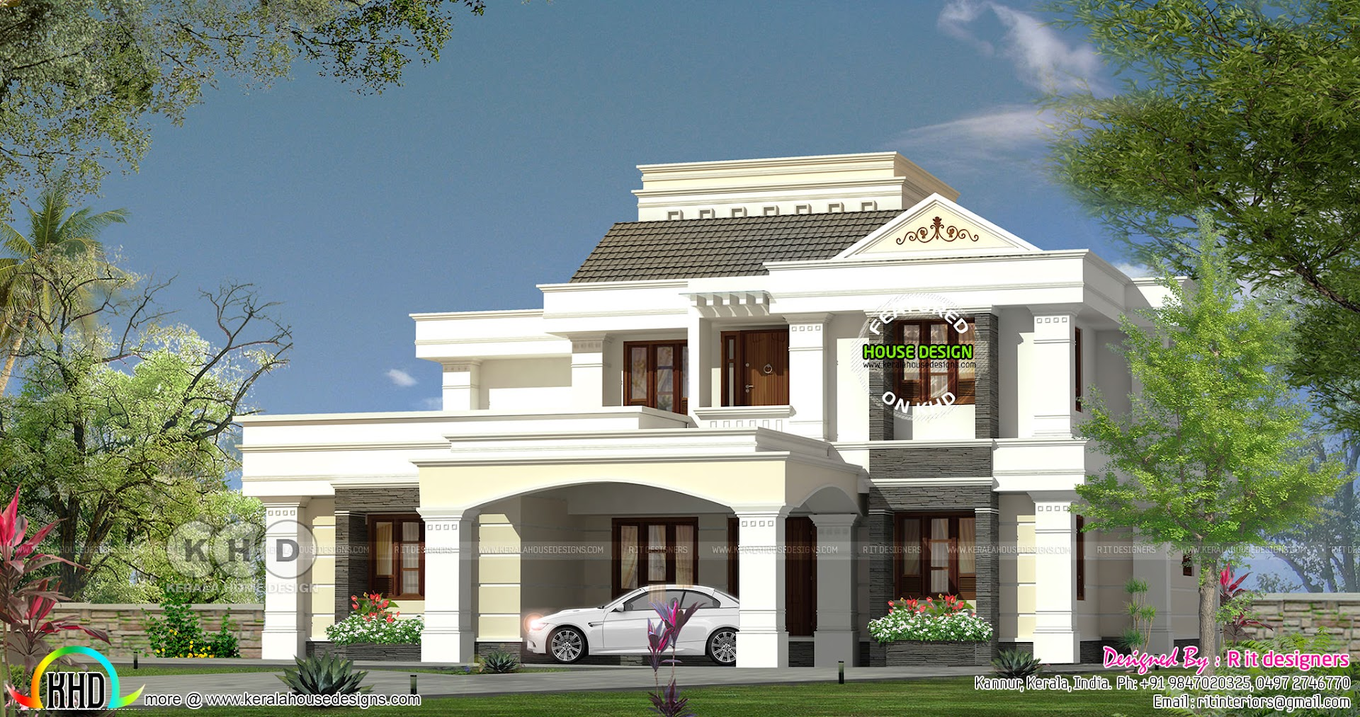 colonial home designs. Please Follow Kerala Home Design 290 Square Meter Semi Colonial Home  Design Bloglovin