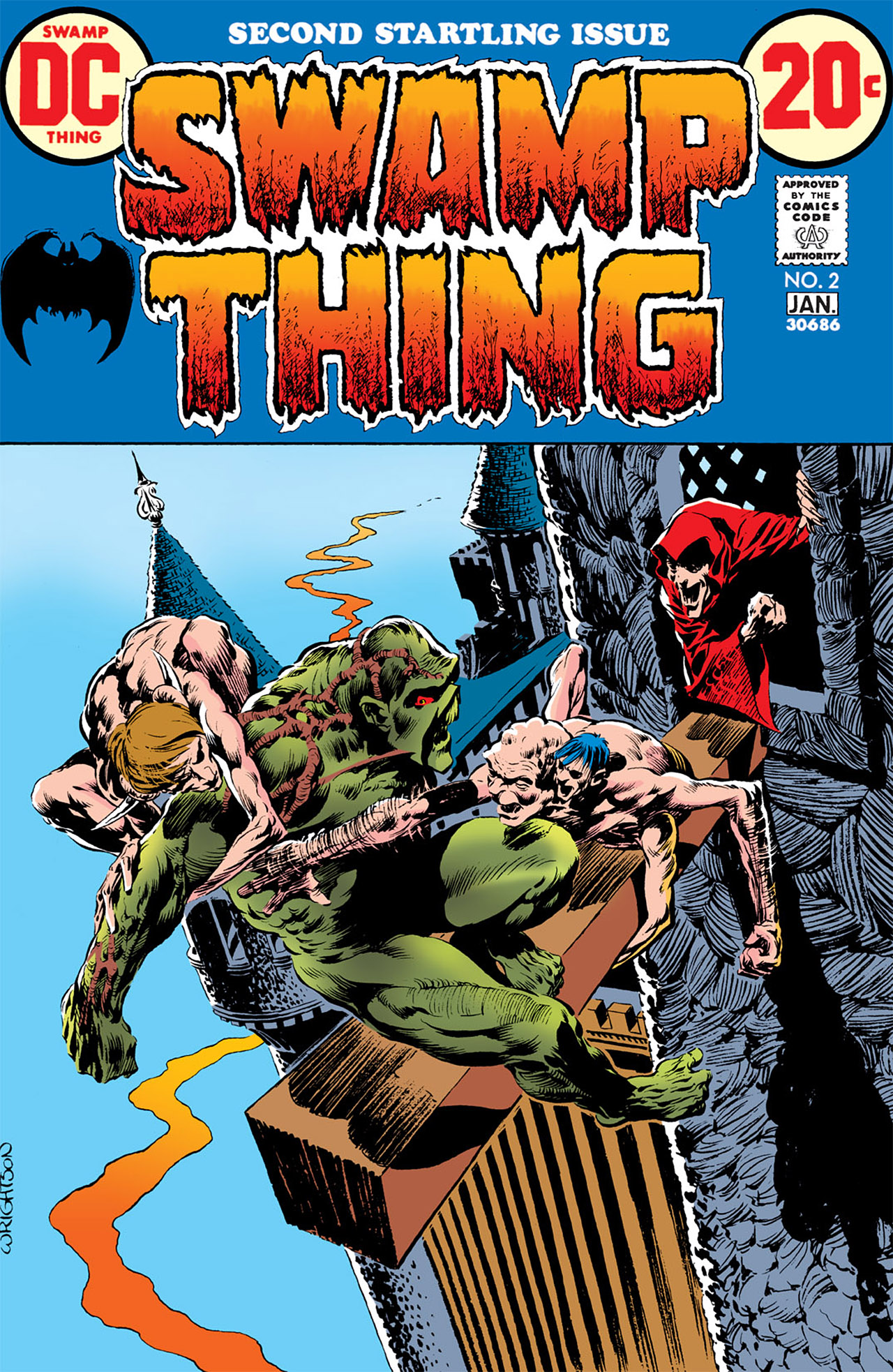 Swamp Thing (1972) Issue #2 #2 - English 1