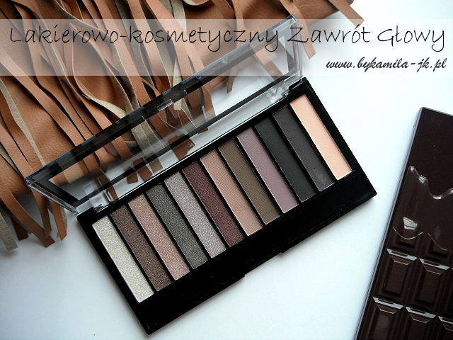 Paleta cieni Makeup Revolution Romantic Smoked