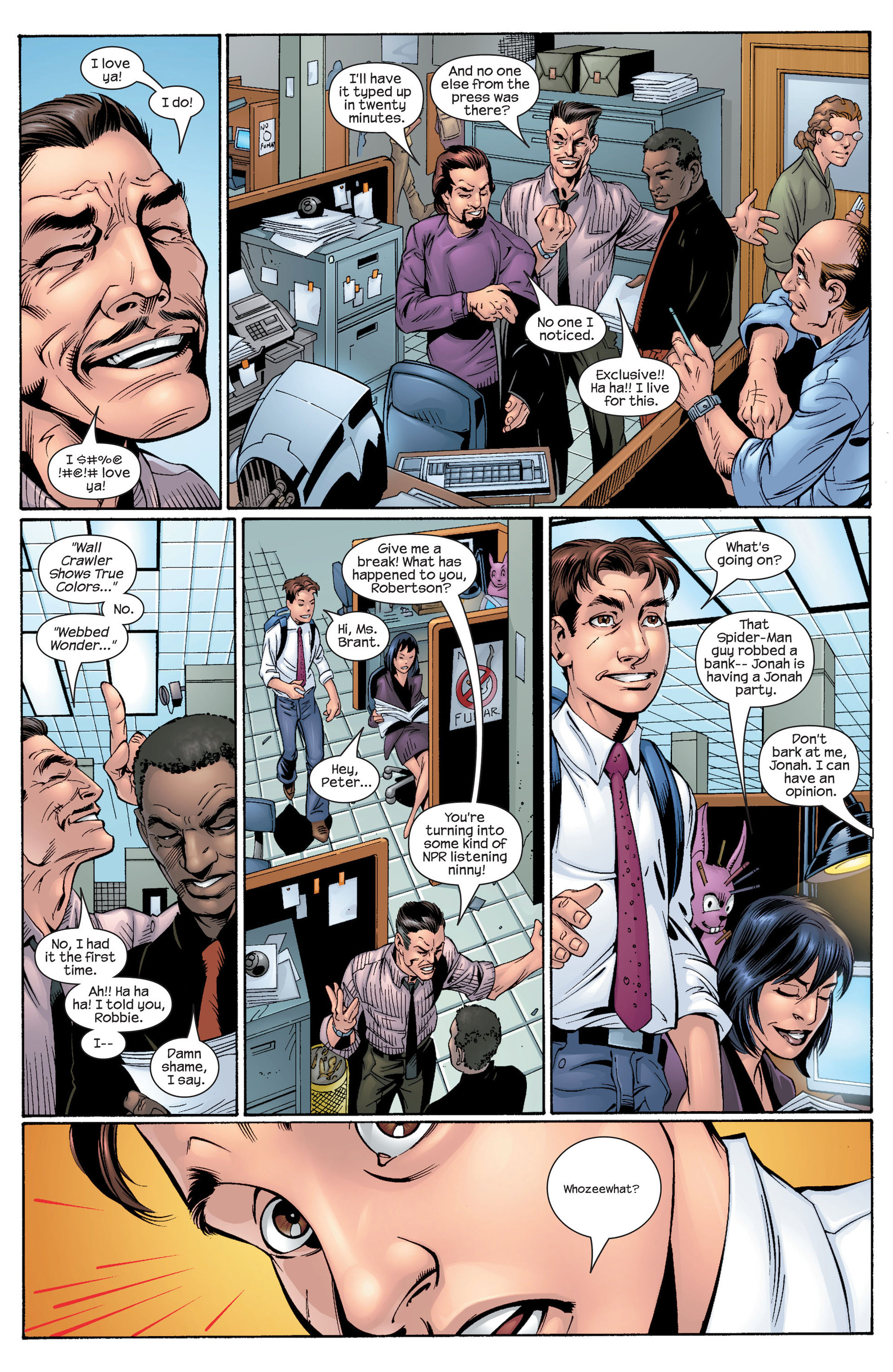 Read online Ultimate Spider-Man (2000) comic -  Issue #29 - 8