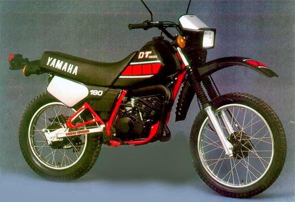 moto DT180 1986