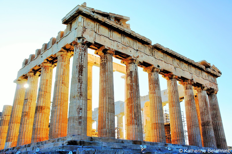 Parthenon Acropolis Golden Hour One Day in Athens