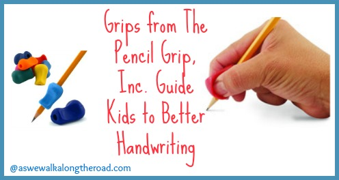 Using pencil grips to improve handwriting