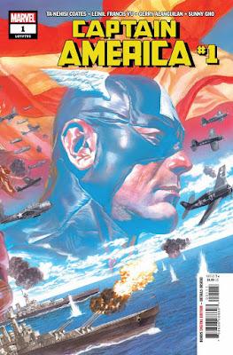 """Captain America 1"" de Ta-Nehisi Coates y Leinil Francis Yu - Marvel Comics"