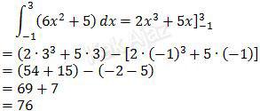 Solusi integral tentu fungsi aljabar, soal no. 27 UN 2017 Matematika SMA-IPS