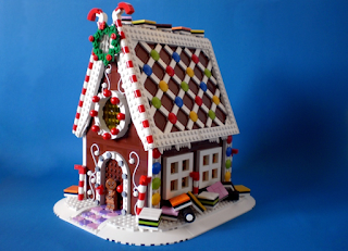 LEGO Gingerbread House - LEGO Ideas 2016 Finalist