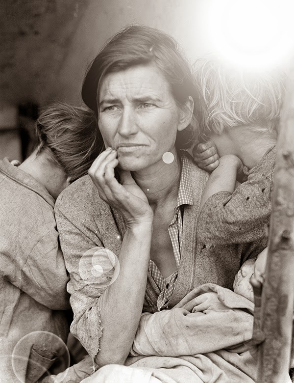Migrant Mother Special Edition by Dorothea Lange and Richard McKenzie