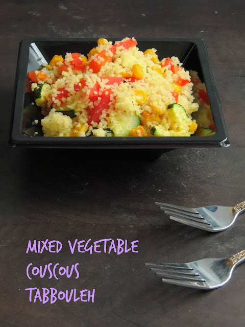 Couscous Mixed Vegetable Tabbouleh