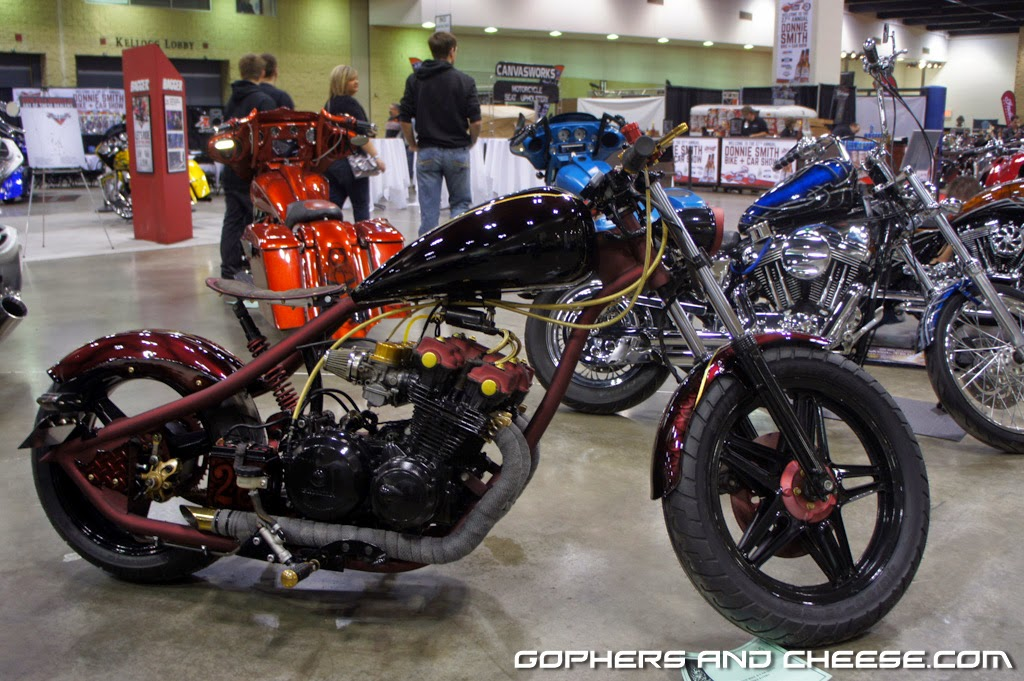 Gophers and Cheese: Donnie Smith Bike Show 2014 - Part 2