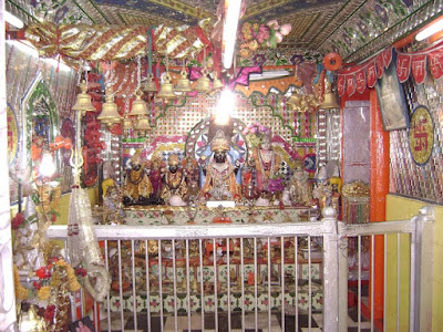 Inside Badrinath Temple