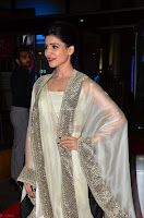 Samantha Ruth Prabhu cute in Lace Border Anarkali Dress with Koti at 64th Jio Filmfare Awards South ~  Exclusive 012.JPG