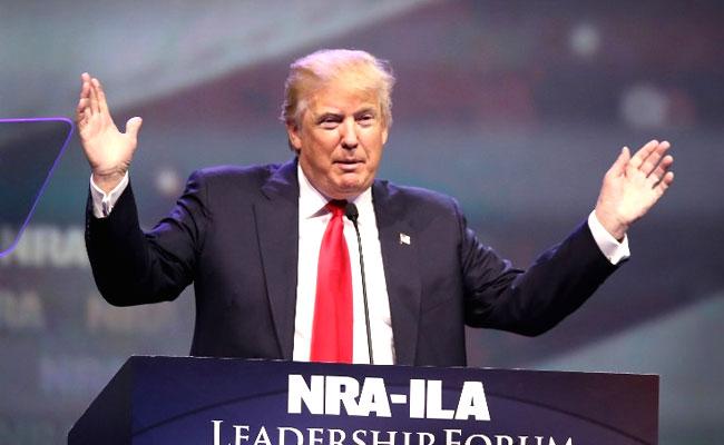 Trump attacks Dishonest media in first solo press conference