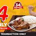 Inasal with Rice for Only P34 at Chicken Deli