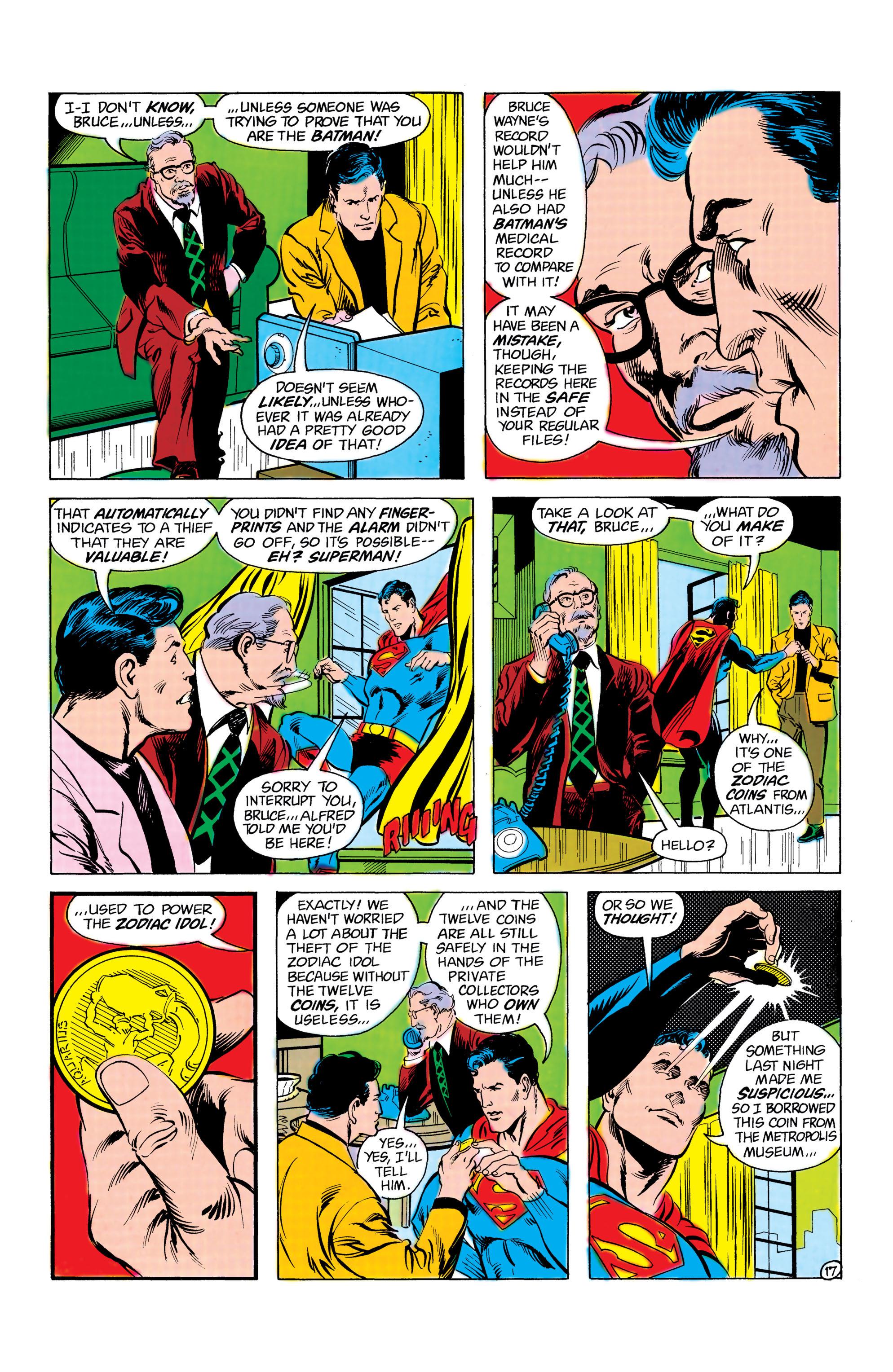 Read online World's Finest Comics comic -  Issue #285 - 18