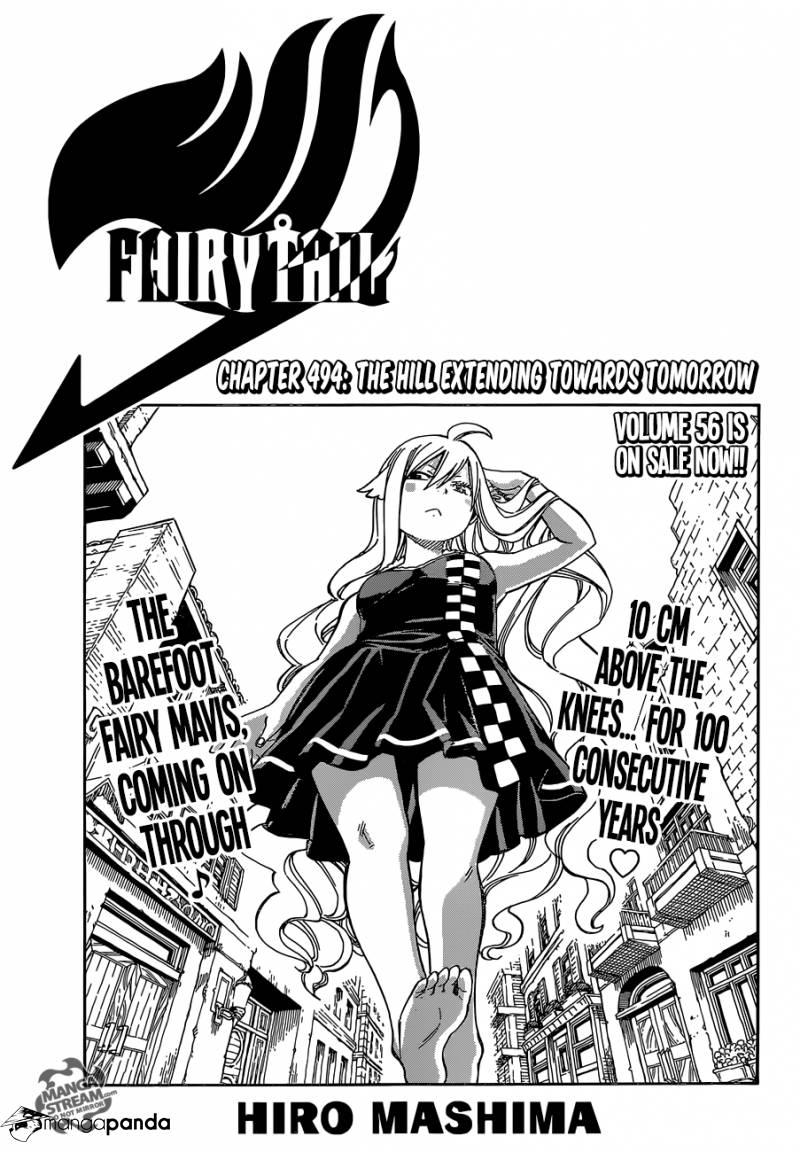 Fairy Tail Ch.494