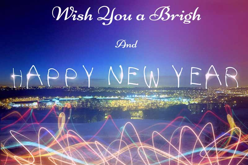 wish you a bright new year