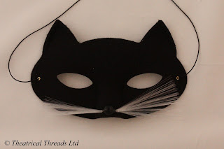 Cat Face Mask from Theatrical Threads Ltd