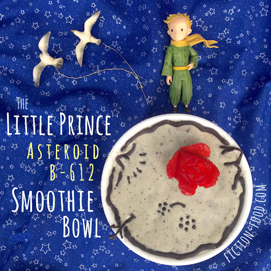 Asteroid B-612 Smoothie Bowl | The Little Prince