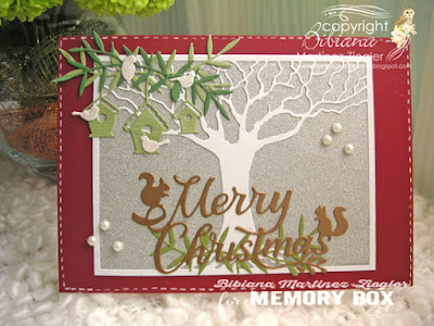 christmas stretching your dies front card