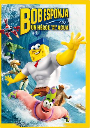 Bob Esponja: Un héroe fuera del agua (2015) [BRrip 1080p] [Latino] [Animación]