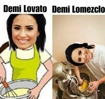 Demi Lovato (Meme de humor)
