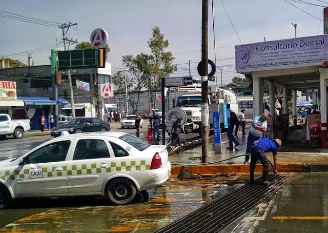 Lluvias afectan a San Mateo Atenco  Toluca Noticias  De Hoy