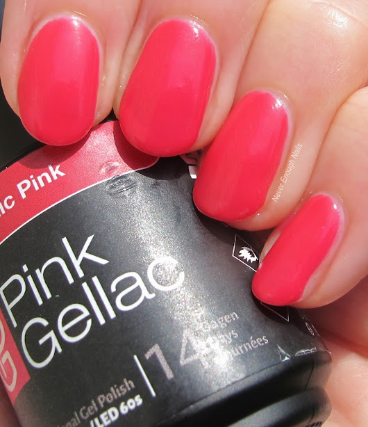 Pink Gellac Gel Polish Review!