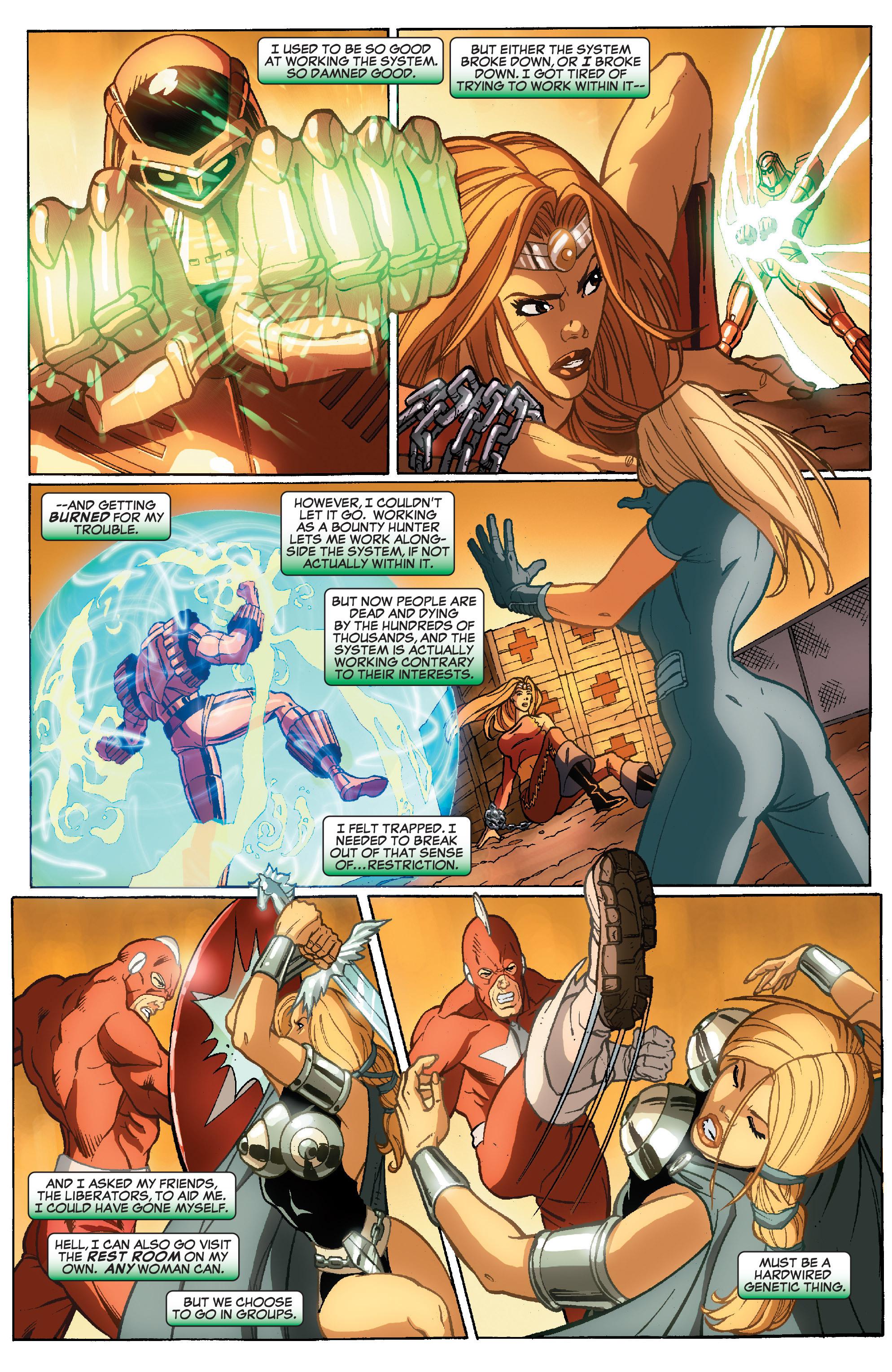 Read online She-Hulk (2005) comic -  Issue #35 - 11