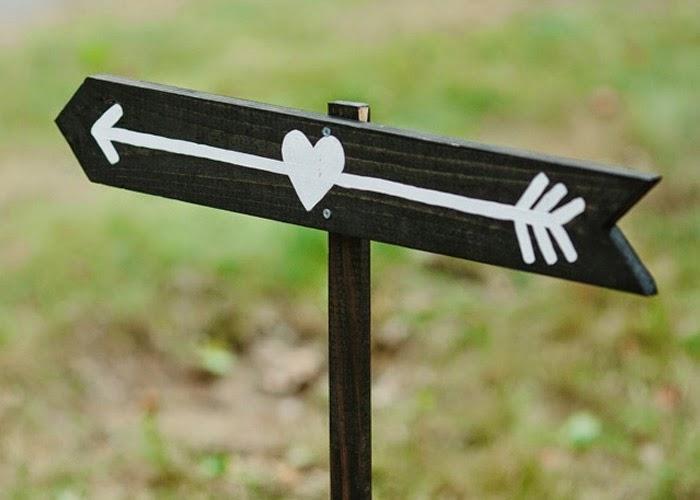 Ideias criativas casamento - plaquinhas